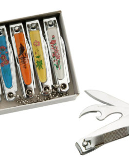 ASSORTED PICTURES 2 1/2″ NAIL CLIPPER WITH CHAIN
