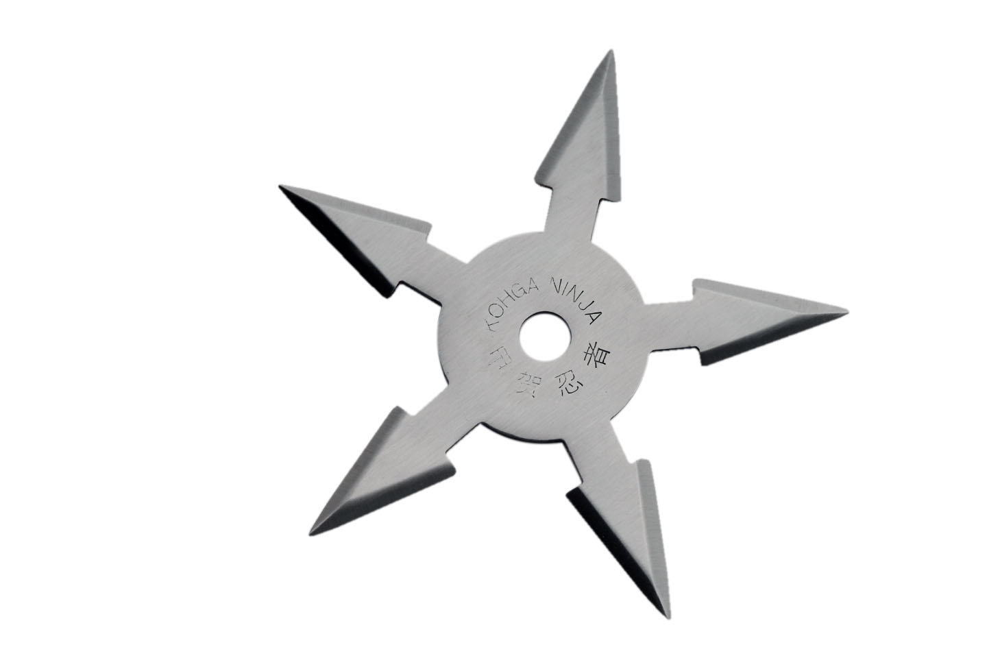4″ SILVER STAR 5 POINTS