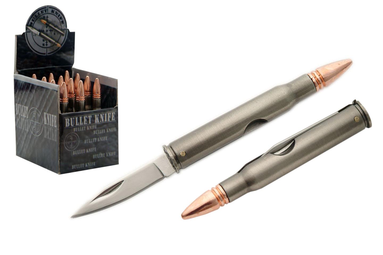 12-PC 30-06 BULLET KNIFE DISPLAY