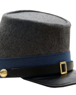 BLUE CONFEDERATE INFANTRY KEPI(SMALL)
