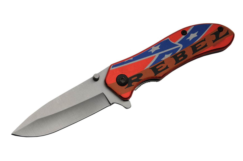 5″ CONFEDERATE REBEL KNIFE