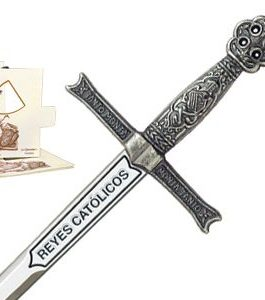 Miniature Sword of Catholic Kings (Silver) by Marto of Toledo Spain
