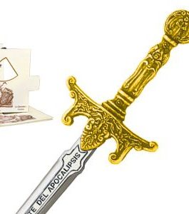 Miniature Apocalypse Riders Sword (Gold) by Marto of Toledo Spain