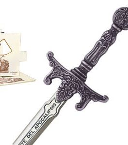 Miniature Apocalypse Riders Sword (Silver) by Marto of Toledo Spain