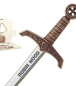 Miniature Robin Hood Sword (Bronze) by Marto of Toledo Spain
