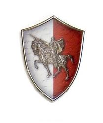 Miniature Knight's Shield by Marto of Toledo Spain