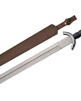 31″ CELTIC WAR SWORD Black Handle