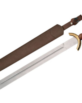 31″ CELTIC WAR SWORD Wood Handle