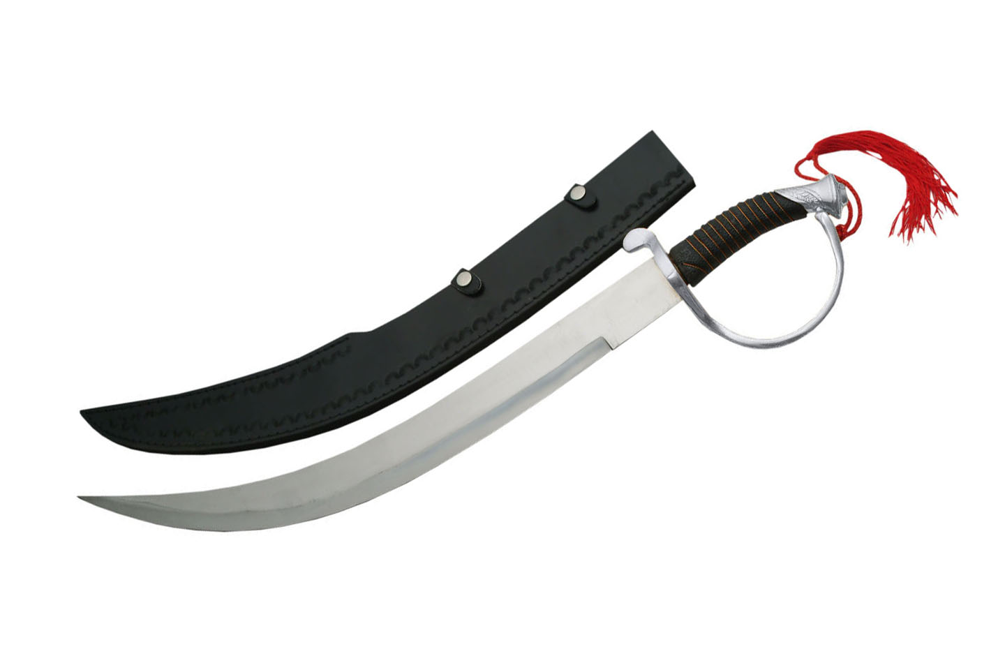 25″ SILVER HANDLE PIRATE SWORD