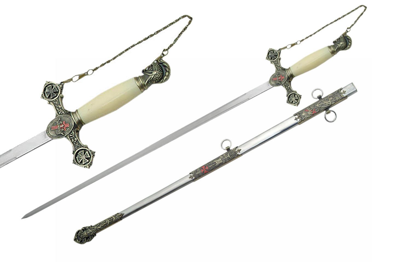 35″ MASONIC KNIGHTS TEMPLAR SWORD