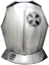 Templar Knight Armor Breastplate by Marto of Toledo Spain (Templar Cross)