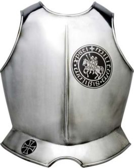Templar Knight Armor Breastplate by Marto of Toledo Spain (Templar Seal)