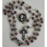 Damascene Silver Jesus Rosary Beads by Midas of Toledo Spain style 9600