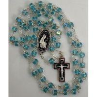Damascene Silver Jesus Rosary Beads by Midas of Toledo Spain style 9601-1