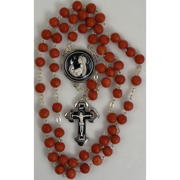Damascene Silver Jesus Rosary Beads by Midas of Toledo Spain style 9604-1