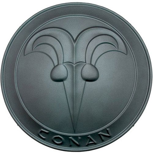 Conan the Barbarian Round Buckler Shield by Marto of Toledo Spain (Green) - Official Licensed Reproduction