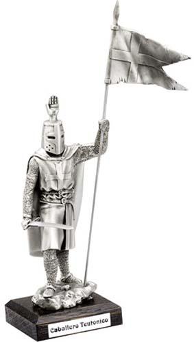 teutonic Templar Knight Statue by Marto of Toledo Spain