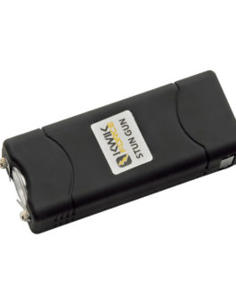 3.5″ KWIK FORCE ULTRA MINI (BLACK) STUN GUN W/ BUILT-IN CHARGER