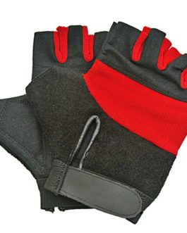 TOWEL BACK CROSS TRAINING GLOVES -SIZE MEDIUM