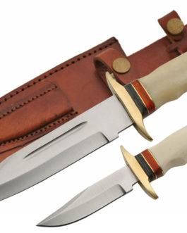 TWIN 7.5″ & 12″ BOWIE KNIFE