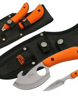 2 PC GUTHOOK CAPING SET (ORANGE)