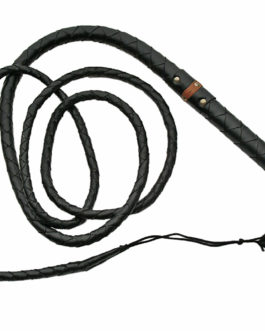HAND MADE 9FT LEATHER BULL WHIP