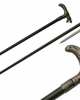 36″ DRAGON MOUTH SWORD CANE
