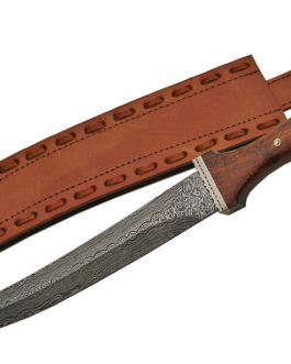 18.5″ DAMASCUS MINI SWORD