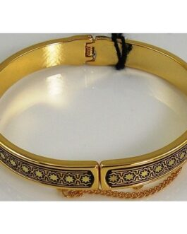 Damascene Gold Star Bracelet by Midas of Toledo Spain style 805004