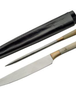 2 PIECE SCOTTISH STEAK KNIFE SET