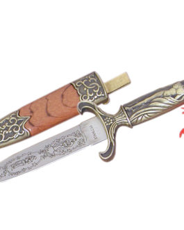 7.75″ MONGOLIAN BOOT DAGGER