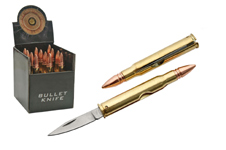 12 PIECE 3″ BULLET KNIFE DISPLAY