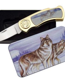 WOLF & MOON TIN GIFT BOX