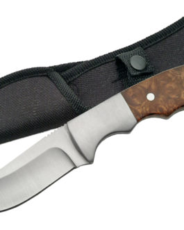 7.25″ GUTHOOK BURLWOOD HANDLE