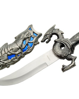10″ BLUE DRAGON DAGGER