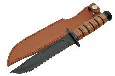 12″ WWII COMBAT HEAVY KNIFE WITH SHEATH