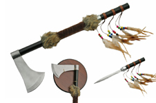 18.75′ TOMAHAWK WITH 6″ DAGGER INCLUDED