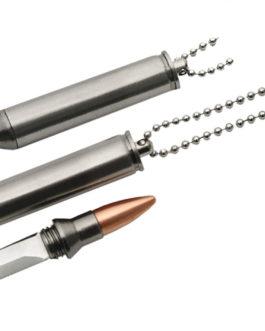 3″ 30-06 BULLET NECK KNIFE
