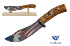 10″ EAGLE STAG STYLE HUNTING KNIFE