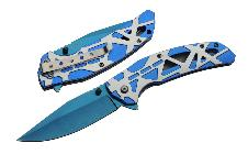 4.5″ SONIC BLUE FOLDER – SPRING ASSIST