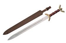 31″ CELTIC WAR SWORD Wood Handle