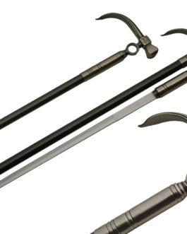 34.5″  HAMMER STYLE SWORD CANE