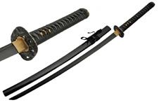 41.5″ HANDMADE BLACK BLADE SWORD