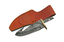 5.5″ 7 GAUGE DAMASCUS GUTHOOK BLADE