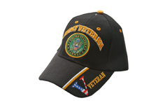 ARMY VETERAN BLACK CAP