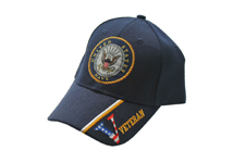 NAVY VETERANS NAVY BLUE CAP