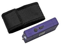 4′ KWIK FORCE PURPLE STUN GUN W/ BUILT IN CHARGER