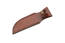 8″ BROWN LEATHER SHEATH