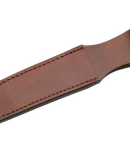 12″ BROWN LEATHER SHEATH