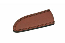 6.75″ DROP POINT BROWN LEATHER SHEATH